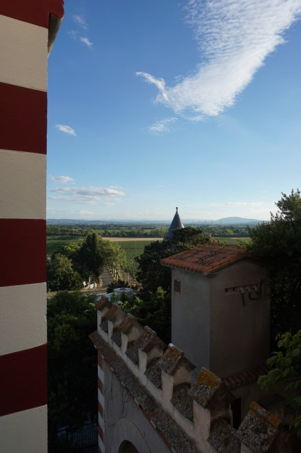 The view from my room at La Tour Du Chateau