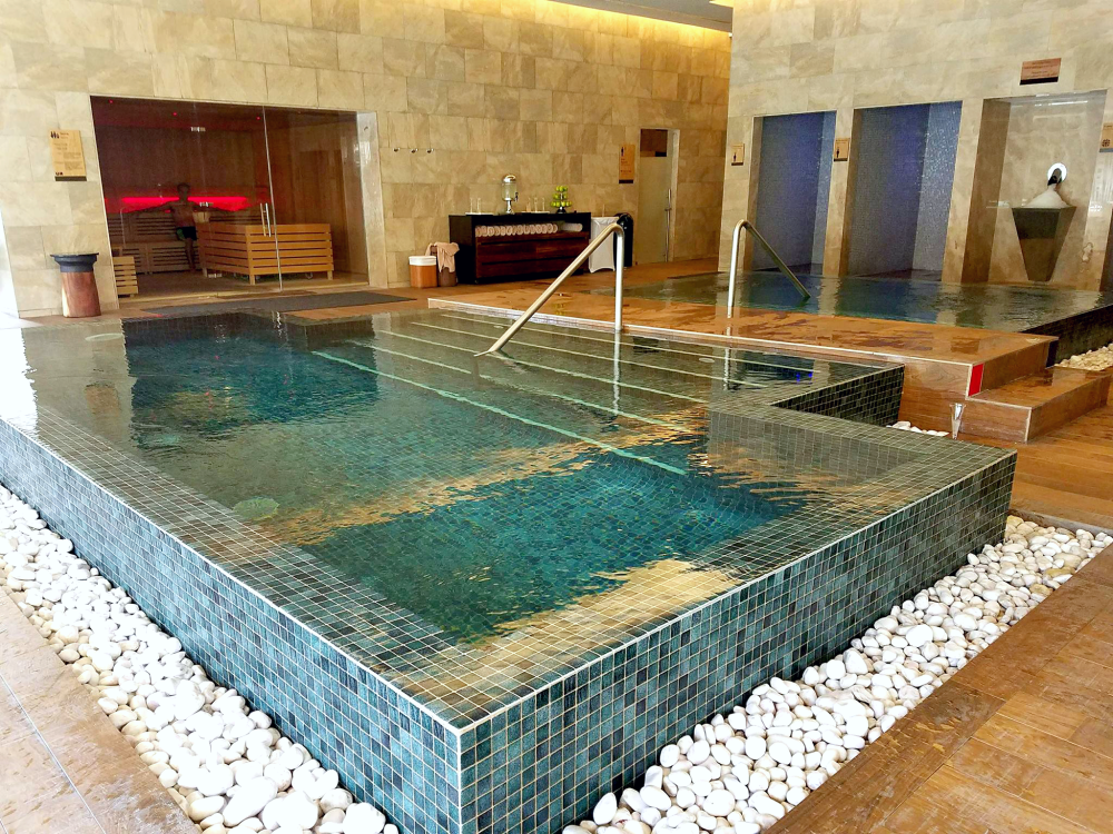 Hydrotherapy Circuit at the Barcelo Maya Grand spa