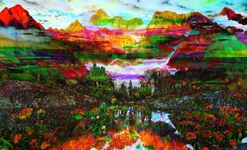 Landscape Rainbow Mountains