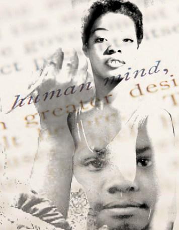 Portrait Art Maya Angelou