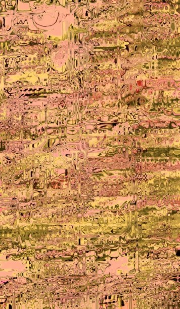 Abstract Distortion Champagne Pink