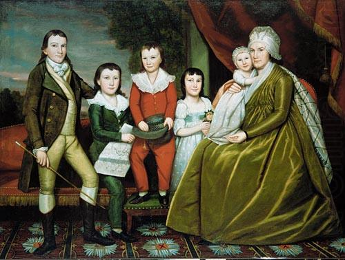 Earl Ralph Mrs Noah Smith And Her Children, Ralph Earl
