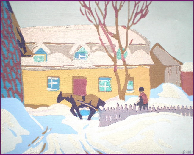 Edwin Holgate Quebec Farml Fine Art And Antiques