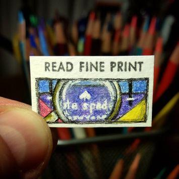 Read Fine Print Kate Spade Stampe