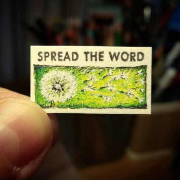 Spread The Word Kate Spade Stamp