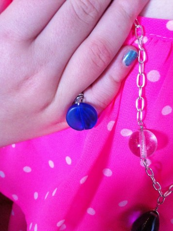 Wire Wrapped Ring-Necklace