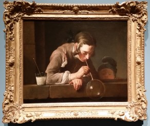 LACMA Chardin Painting Bubble Blower