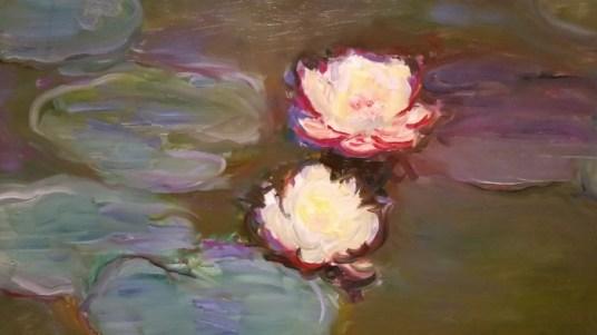 Monet Water Lilies Detail
