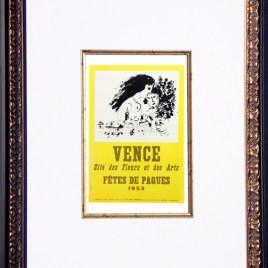 """Chagall Marc, """"Vence fetes de paques"""""""
