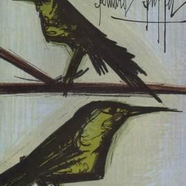 """Buffet Bernard """"Bird Couple"""""""