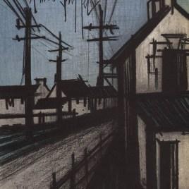 """Buffet Bernard  """"The village road"""""""