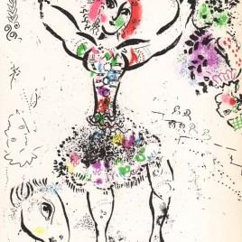 "Chagall Marc, ""La Jongleuse"" 1960"