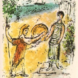 "Chagall Marc, ""Athene and telemachus – Odyssea V2"""