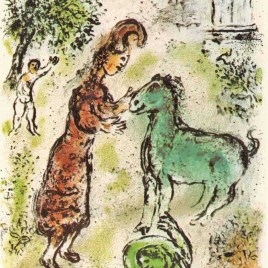 "Chagall Marc, ""Athene and the horse – 1989 Odyssea V1"""