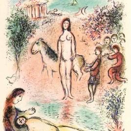 """Chagall Marc, """"Frontispiece Odyssea V2"""""""