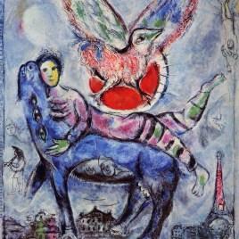 """Chagall Marc, """"La Vache Bleu – 1970"""""""