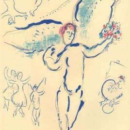 "Chagall Marc, ""Sketch for firebird"""