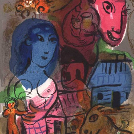 Chagall_Untitled_Homage _XXe_1969
