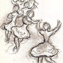 """Chagall Marc, """"Untitled Sketch 2"""""""