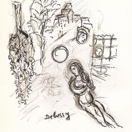 "Chagall Marc, ""Untitled Sketch 4"""