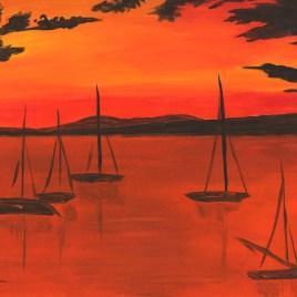 "Absi Grace, ""Sunset"""