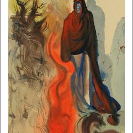 "Dali Salvardor, ""Hell 34 – The apparition of dis"""