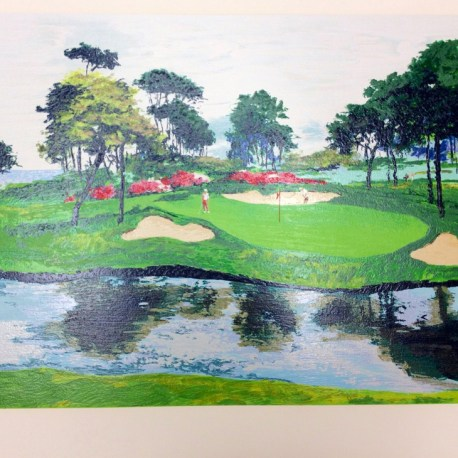 King_Mark_Golf_Serigraph