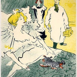 """Lautrec Henri de Toulouse, """"L'artisan moderne"""""""