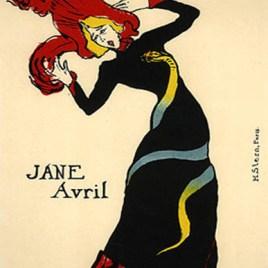 """Lautrec Henri de Toulouse, """"Jane Avril"""""""