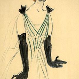 "Lautrec Henri de Toulouse, ""Yvette Guilbert """