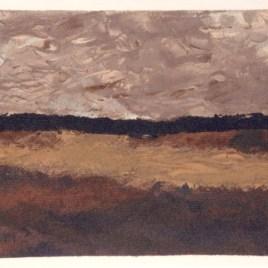 """Braque Georges, """"Les champs ciel bas"""""""