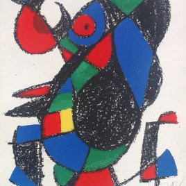 Miro Joan, Untitled 1, Pencil signed, Numbered 51/150,
