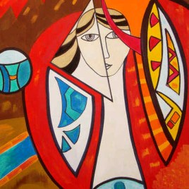"Absi Grace, ""Mirror Reflection"""