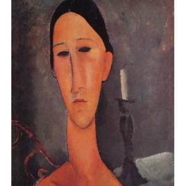 "Modigliani Amedeo, ""Hanka Zborowska"""