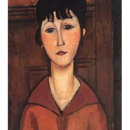 "Modigliani Amedeo, ""Portrait of a young woman 1916"""