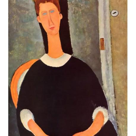 Modigliani_17_Portrait_of_painter_Kisling