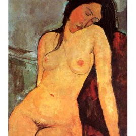 "Modigliani Amedeo, ""Seated nude 2"""