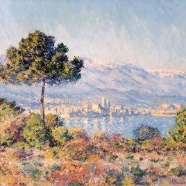 "Monet Claude, ""Antibes seen from Notre Dame"""