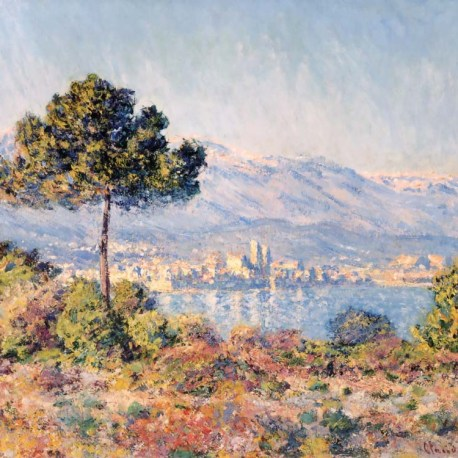 Monet_01_Antibes _seen_from_Notre_Dame