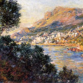 "Monet Claude, ""Monte Carlo from Roquebrune"""