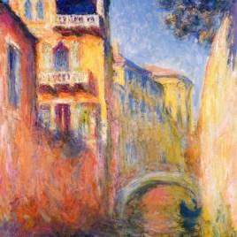 "Monet Claude, ""Rio de la salute"""