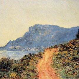 "Monet Claude, ""The corniche of Monaco"""