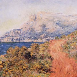"Monet Claude, ""The red road near Menton"""