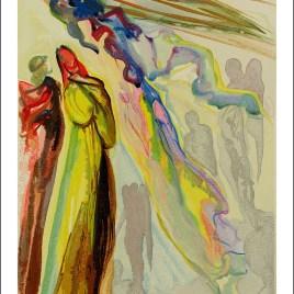 "Dali Salvardor, ""Paradise 16 – The apparition of the ancestor"""