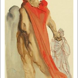 "Dali Salvardor, ""Purgatory 5 – Virgil s reproaches"""