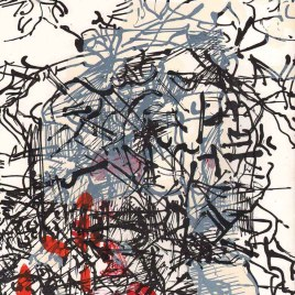 "Riopelle Jean-Paul, ""Untitled – DM35"""