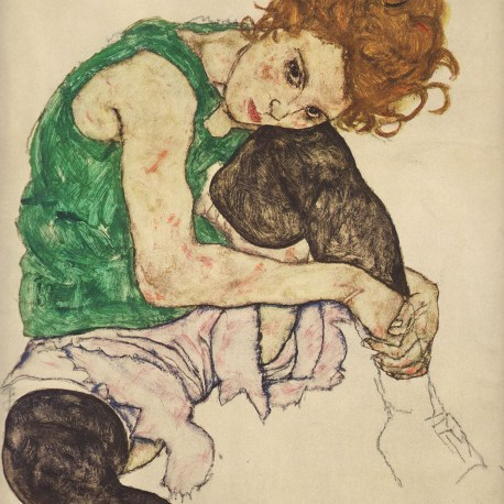 Schiele_56_the_artists_wife