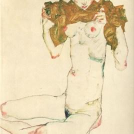 """Schiele Egon, """"The virgin 1913"""""""