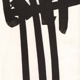"Soulages Pierre, ""Untitled XXe Siecle"""