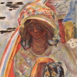 """Bonnard Pierre, """"Jeune fille dans une barque"""""""